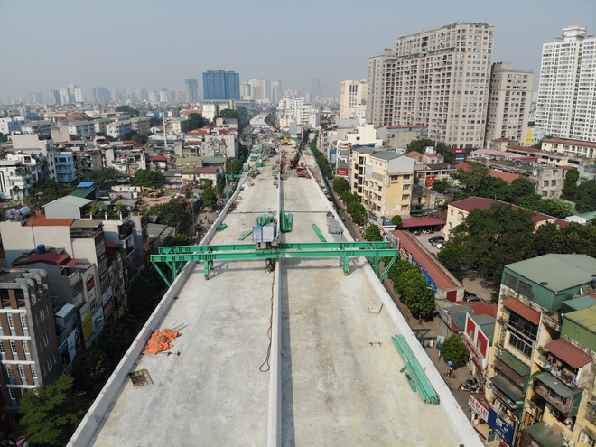 Hà Nội: Toàn cảnh tuyến đường 9.400 tỷ sau hơn một năm thi công - 2