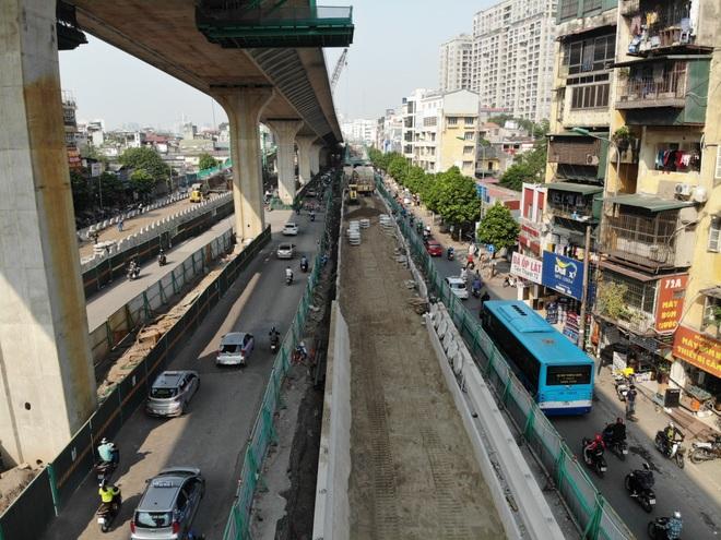 Hà Nội: Toàn cảnh tuyến đường 9.400 tỷ sau hơn một năm thi công - 4