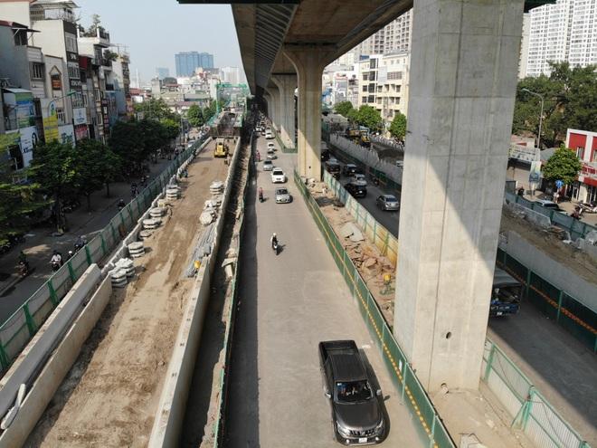 Hà Nội: Toàn cảnh tuyến đường 9.400 tỷ sau hơn một năm thi công - 3
