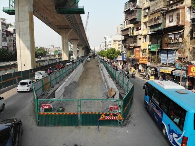Hà Nội: Toàn cảnh tuyến đường 9.400 tỷ sau hơn một năm thi công - 5