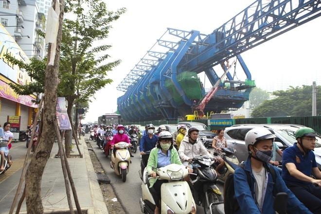 Hà Nội: Toàn cảnh tuyến đường 9.400 tỷ sau hơn một năm thi công - 13