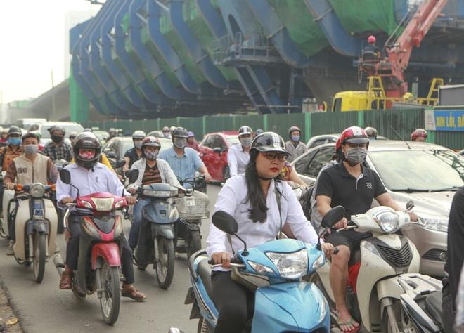 Hà Nội: Toàn cảnh tuyến đường 9.400 tỷ sau hơn một năm thi công - 15