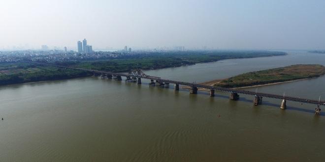 Toàn cảnh 6 cây cầu huyết mạch bắc qua sông Hồng - 4