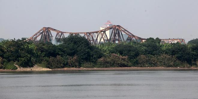 Toàn cảnh 6 cây cầu huyết mạch bắc qua sông Hồng - 3