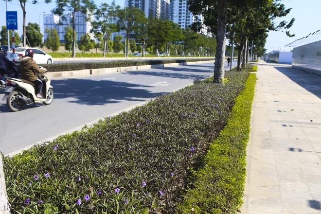 Ngắm tuyến đường 10 làn xe chưa được đặt tên tại Hà Nội - 5