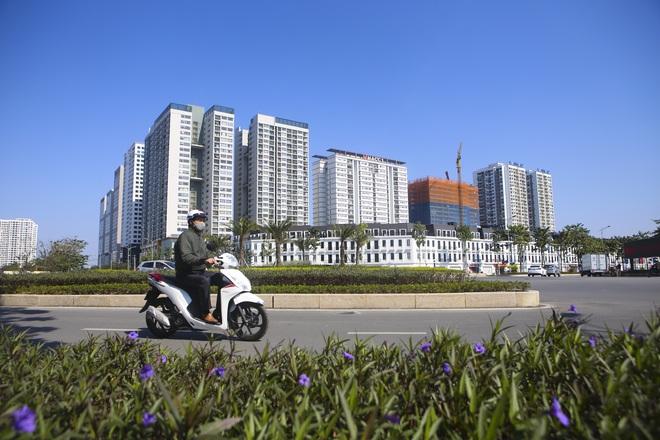 Ngắm tuyến đường 10 làn xe chưa được đặt tên tại Hà Nội - 8