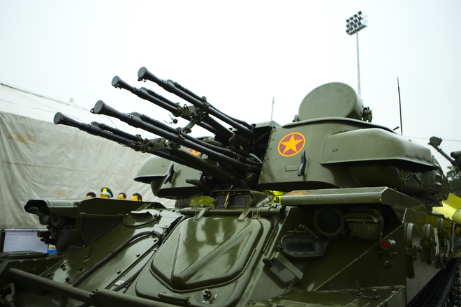 Hàng loạt vũ khí tối tân được Bộ Quốc phòng trưng bày tại Thái Nguyên - 11