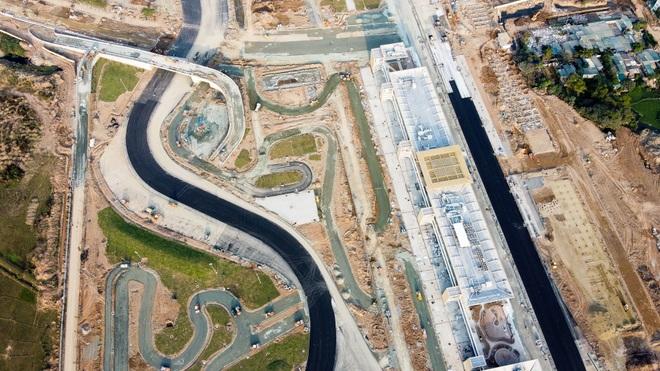 Hà Nội: Được trải thảm nhựa, đường đua F1 dần hiện hình - 14
