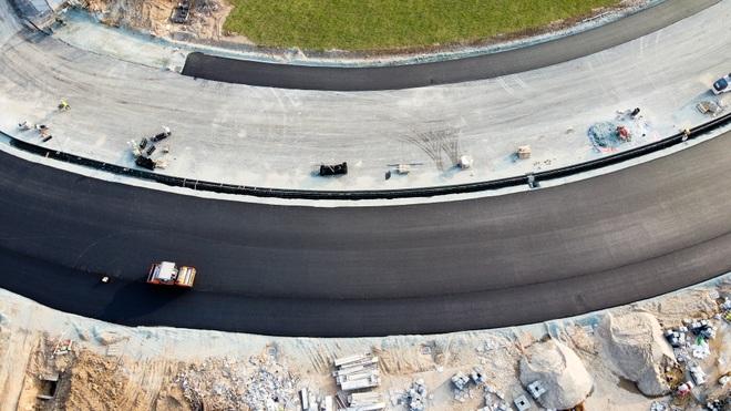 Hà Nội: Được trải thảm nhựa, đường đua F1 dần hiện hình - 8