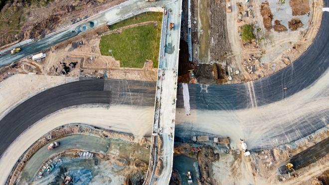 Hà Nội: Được trải thảm nhựa, đường đua F1 dần hiện hình - 15