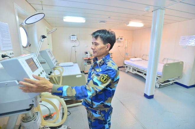 Tàu quân y 561 - Bệnh viện di động hiện đại của Hải quân Việt Nam - 27