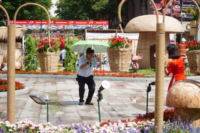 Mãn nhãn ngắm đường hoa Nguyễn Huệ trước giờ G - 4