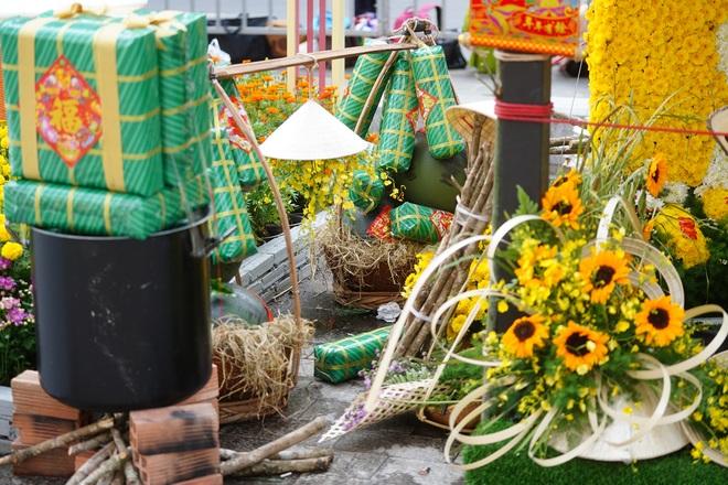 Mãn nhãn ngắm đường hoa Nguyễn Huệ trước giờ G - 1
