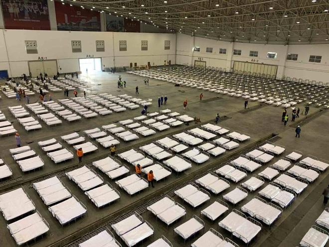 Trung Quốc biến nhà thi đấu, trung tâm hội nghị thành bệnh viện dã chiến - 3