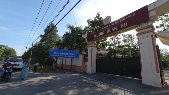 Bệnh viện Dã chiến 300 giường tại Sài Gòn sẵn sàng đón bệnh nhân - 1