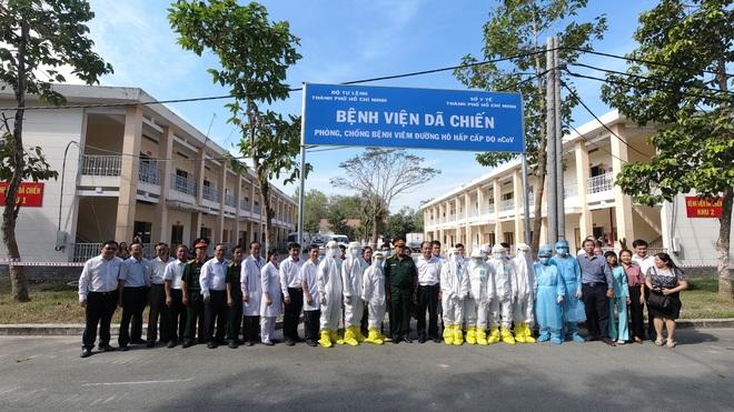 Bệnh viện Dã chiến 300 giường tại Sài Gòn sẵn sàng đón bệnh nhân - 16