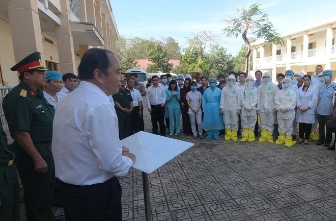 Bệnh viện Dã chiến 300 giường tại Sài Gòn sẵn sàng đón bệnh nhân - 18
