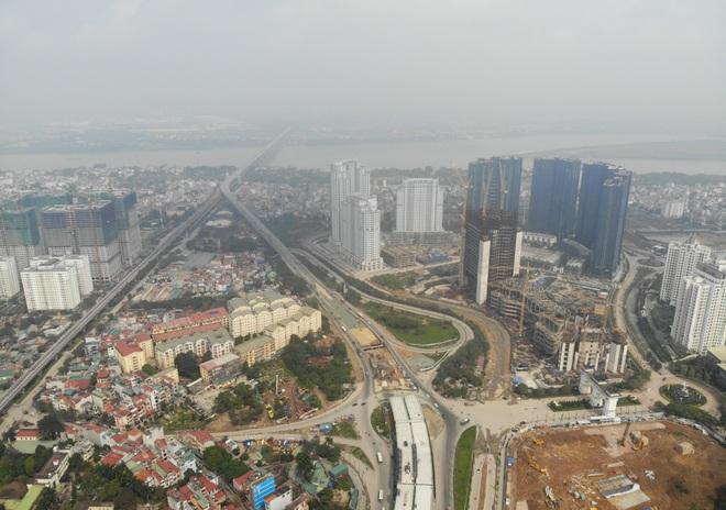Hà Nội: Toàn cảnh đường vành đai 3 trên cao sau gần 2 năm thi công - 10