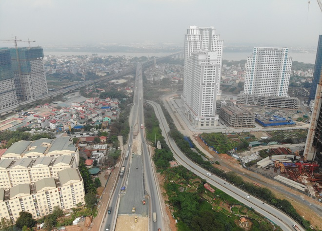 Hà Nội: Toàn cảnh đường vành đai 3 trên cao sau gần 2 năm thi công - 11