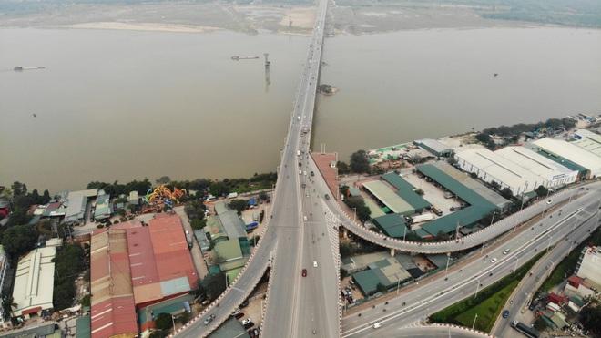Toàn cảnh giao thông cầu Vĩnh Tuy trước khi xây cầu Vĩnh Tuy 2 - 4