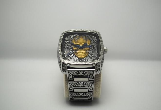 Độc đáo nghề chạm khắc đồng hồ ở Hà Nội - 12