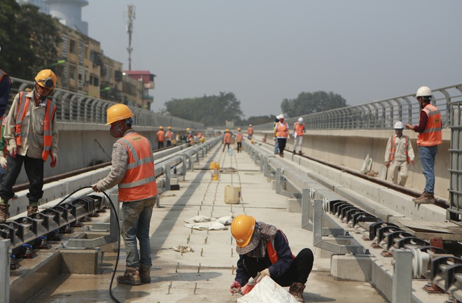 Gấp rút thi công ga ngầm S9 tại dự án đường sắt Nhổn – Ga Hà Nội - 2
