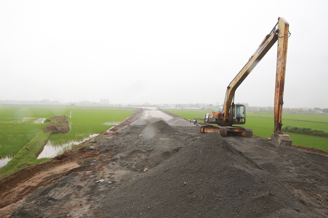 Cận cảnh cây cầu nghìn tỷ vượt sông Ninh Cơ chuẩn bị thông xe - 12