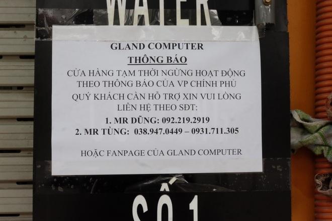 Hà Nội: Cửa hàng điện thoại ngừng kinh doanh, khó khăn nối tiếp khó khăn - 12