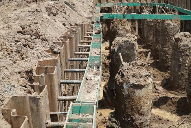 Nhìn từ trên cao dự án đường nối vành đai 3 với cao tốc Hà Nội - Hải Phòng - 11