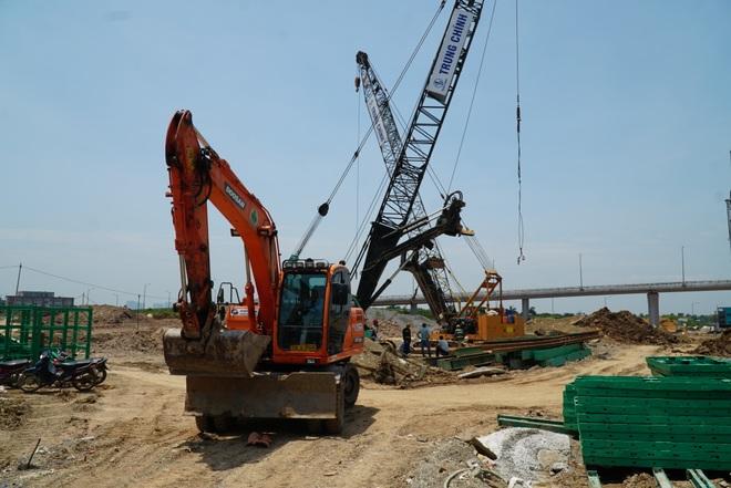 Nhìn từ trên cao dự án đường nối vành đai 3 với cao tốc Hà Nội - Hải Phòng - 10