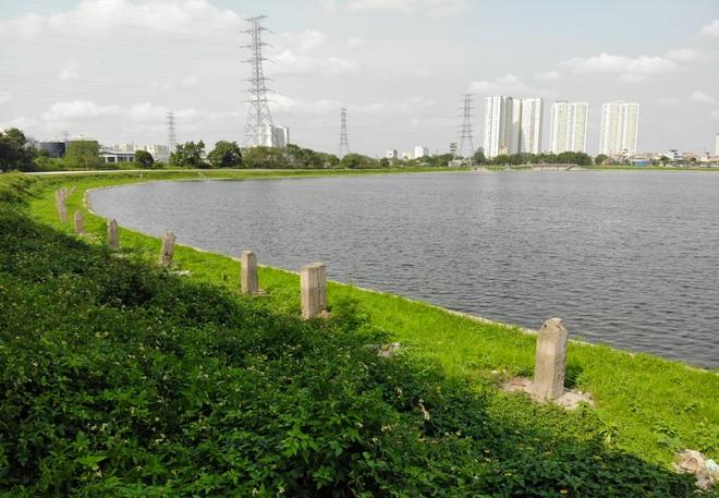 Nhìn từ trên cao hồ điều hoà rộng lớn phía đông thành phố Hà Nội - 9