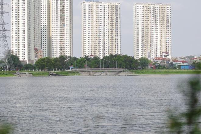 Nhìn từ trên cao hồ điều hoà rộng lớn phía đông thành phố Hà Nội - 15