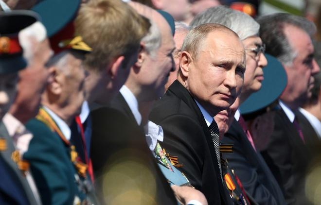Mãn nhãn dàn khí tài khủng của Nga trong lễ duyệt binh - 7