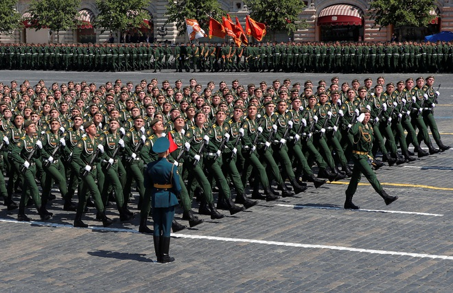 Mãn nhãn dàn khí tài khủng của Nga trong lễ duyệt binh - 5