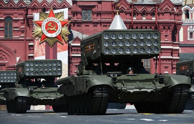 Mãn nhãn dàn khí tài khủng của Nga trong lễ duyệt binh - 12