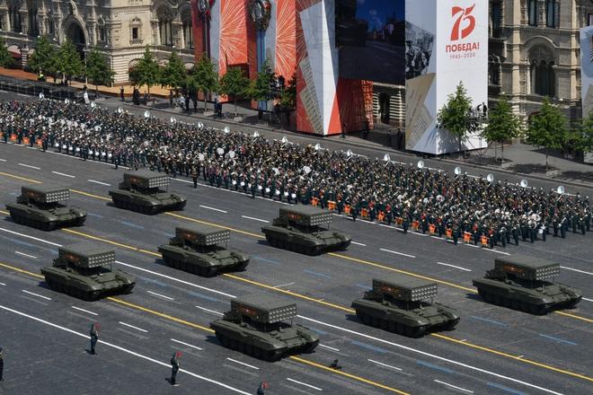 Mãn nhãn dàn khí tài khủng của Nga trong lễ duyệt binh - 13