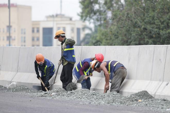 Hà Nội: Gấp rút thi công đường vành đai 3 trên cao trước ngày thông xe - 8