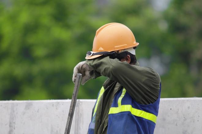 Hà Nội: Gấp rút thi công đường vành đai 3 trên cao trước ngày thông xe - 9