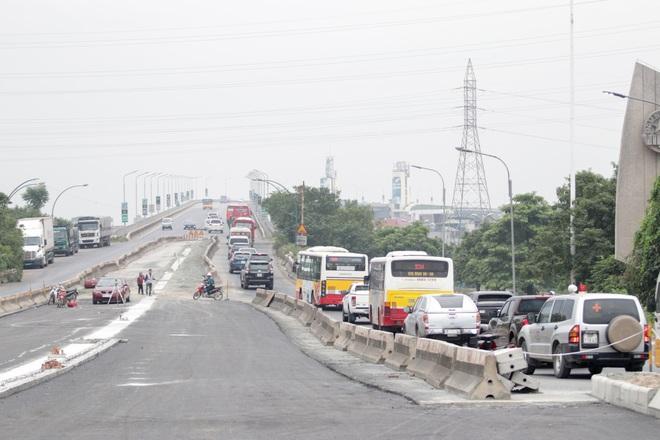 Hà Nội: Gấp rút thi công đường vành đai 3 trên cao trước ngày thông xe - 10