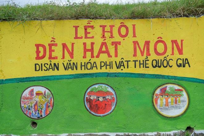 Con đường bích họa dài hơn 2 km ở ngoại thành Hà Nội - 6