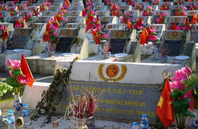 Toàn cảnh nơi yên nghỉ của 1.800 chiến sĩ vệ quốc tại mặt trận Vị Xuyên - 8