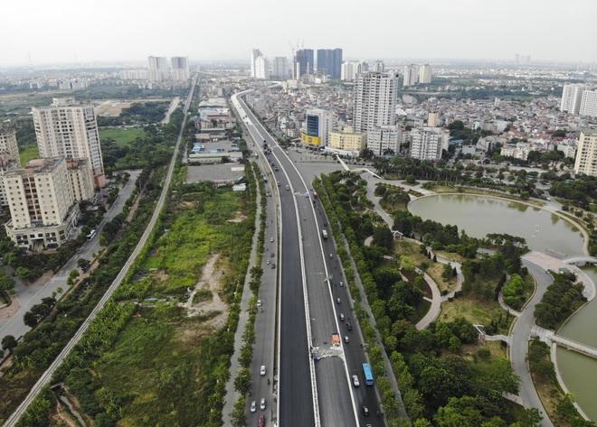 Bất ngờ với diện mạo mới đường vành đai trên cao hơn 5000 tỷ đồng ở Hà Nội - 14