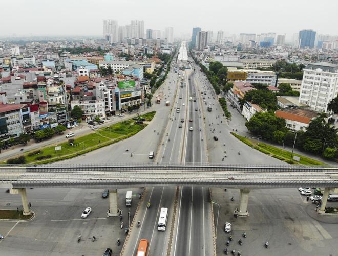 Bất ngờ với diện mạo mới đường vành đai trên cao hơn 5000 tỷ đồng ở Hà Nội - 17