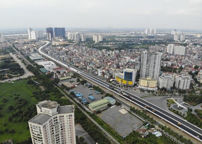 Bất ngờ với diện mạo mới đường vành đai trên cao hơn 5000 tỷ đồng ở Hà Nội - 13
