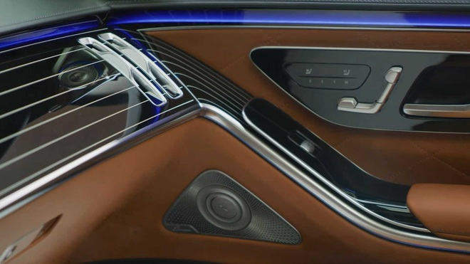 Soi chi tiết nội thất Mercedes S-Class thế hệ mới - 2