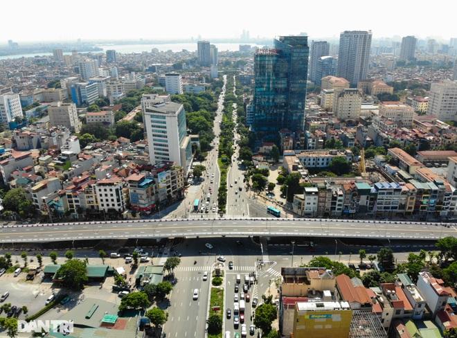 Diện mạo cây cầu vượt quy mô lớn nhất Hà Nội sẽ khánh thành vào ngày 28/8 - 2