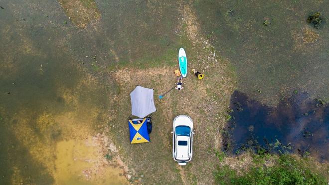 Hồ Chòm Núi - điểm trốn dịch lý tưởng cách nội đô Hà Nội chỉ 40km - 11
