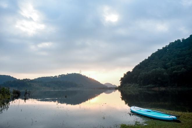 Hồ Chòm Núi - điểm trốn dịch lý tưởng cách nội đô Hà Nội chỉ 40km - 10