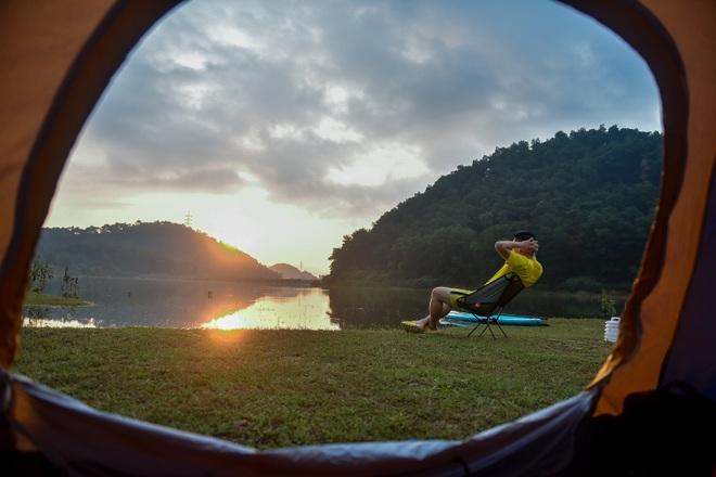 Hồ Chòm Núi - điểm trốn dịch lý tưởng cách nội đô Hà Nội chỉ 40km - 25