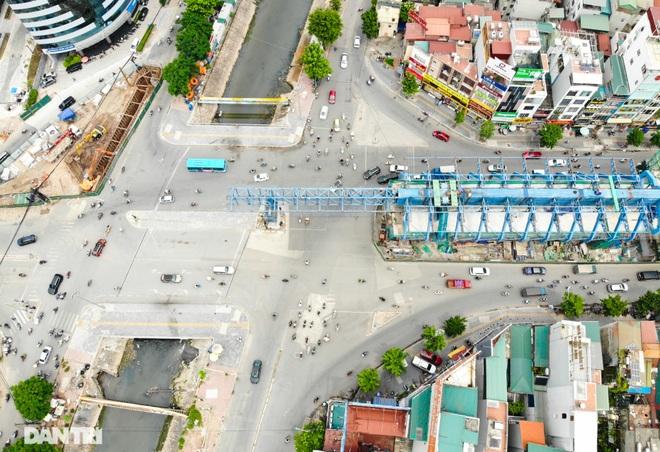 Hà Nội: Toàn cảnh công trường đường vành đai 2 đoạn Minh Khai – Đại La - 4